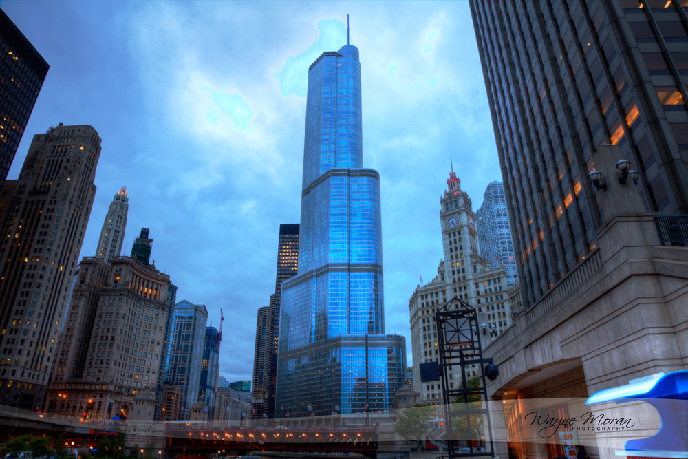 Architecture tour - trump tower,  wrigley building
