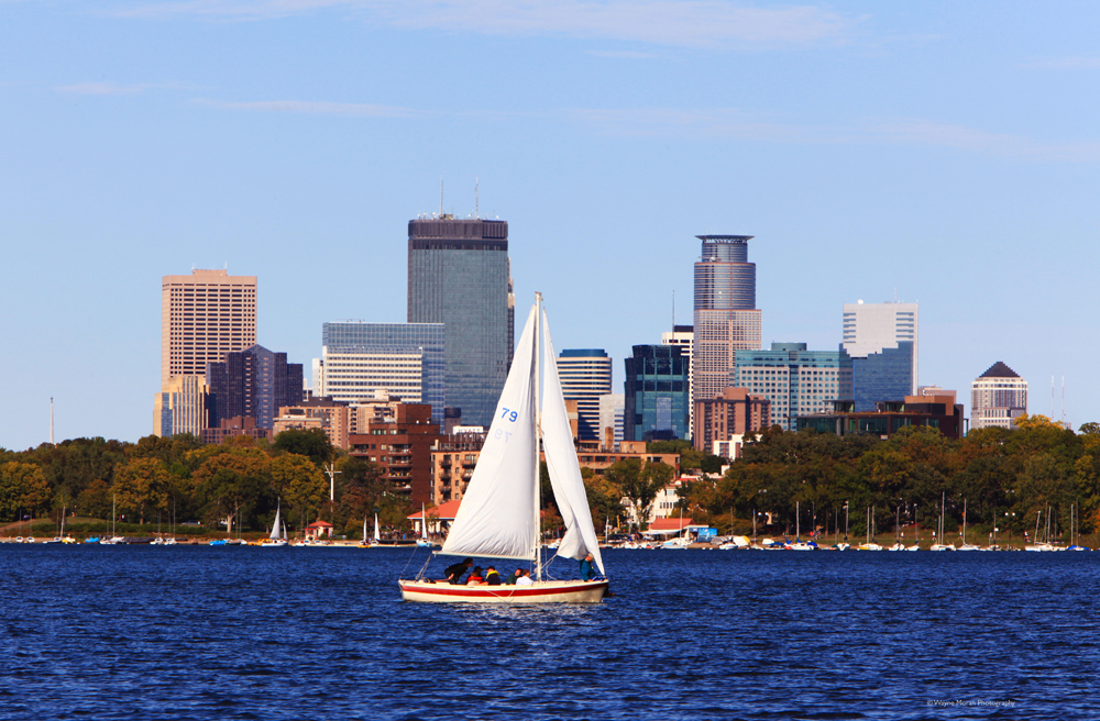 Minneapolis Skyline Photos Lake Calhoun