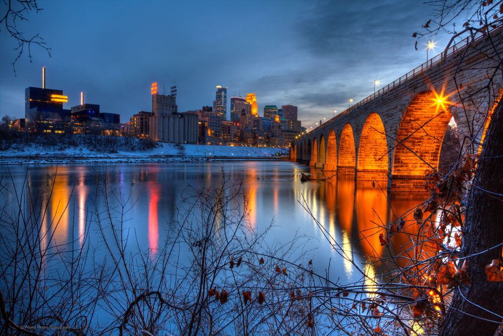 Your Favorite Signed Print Free Giveaway Minneapolis Stone Arch Bridge