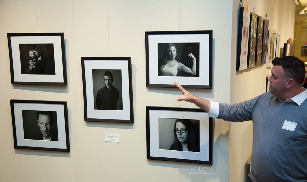 Great Commission Artists Heroes and Heritage Exhibit  Seth Hinrichs Faces of Recovery