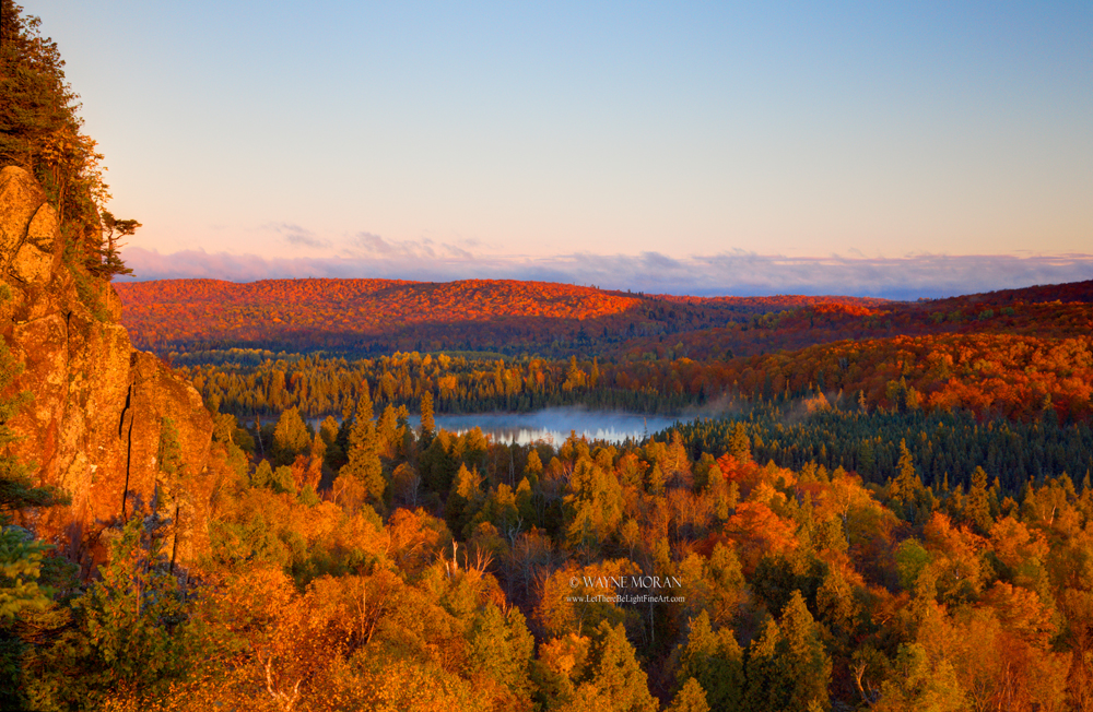 Your Favorite Signed Print Free Giveaway - Oberg Mountain Autumn Minnesota's North Shore