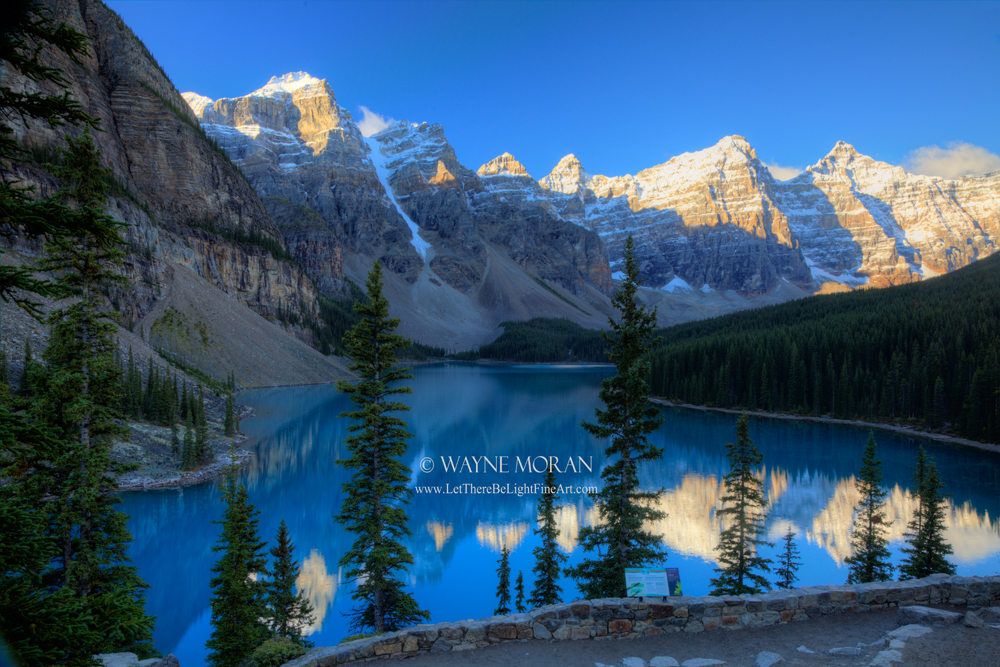 Moraine Lake Early Morning - Banff National Park - Canadian Rockies Banff National Park Photography Tour - Jasper National Park Alberta Canada