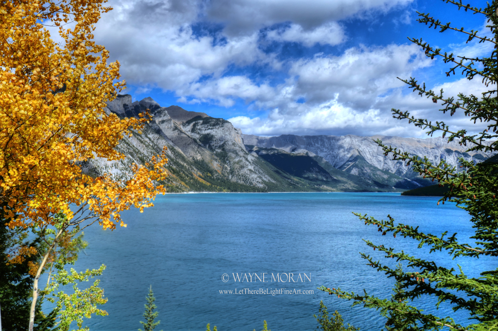 Signed Print Giveaway Lake Minnewanka Banff - Banff National Park - Canadian Rockies Banff National Park Photography Tour - Jasper National Park Alberta Canada