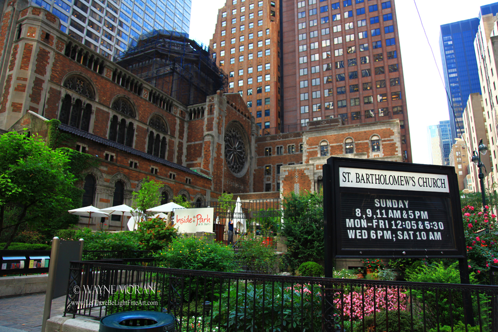 Planning A Family Trip To New York City Part 2 - saint bartholomew church nyc