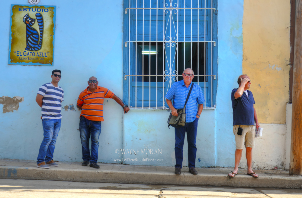Our Drivers/Helpers in Cuba From Left Medical Student, Santiel, Pastor and The Dude