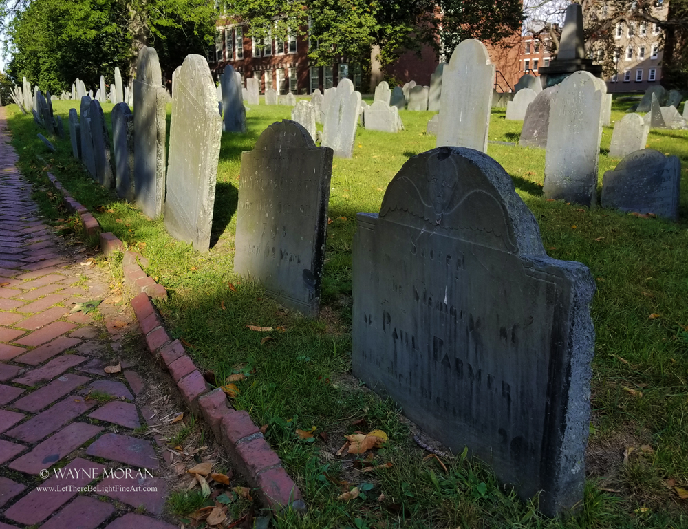 The Best Freedom Trail Boston Travel Tips Copp's Hill Burying Ground