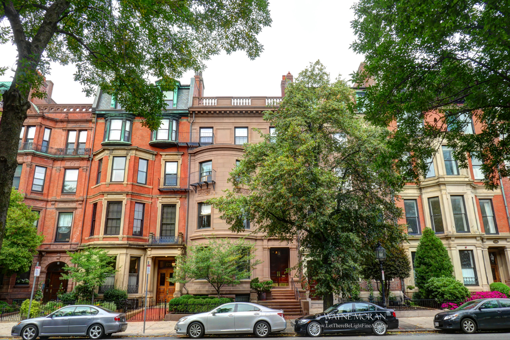 The Best Freedom Trail Boston Travel Tips brownstone buildings of commonwealth avenue boston ma