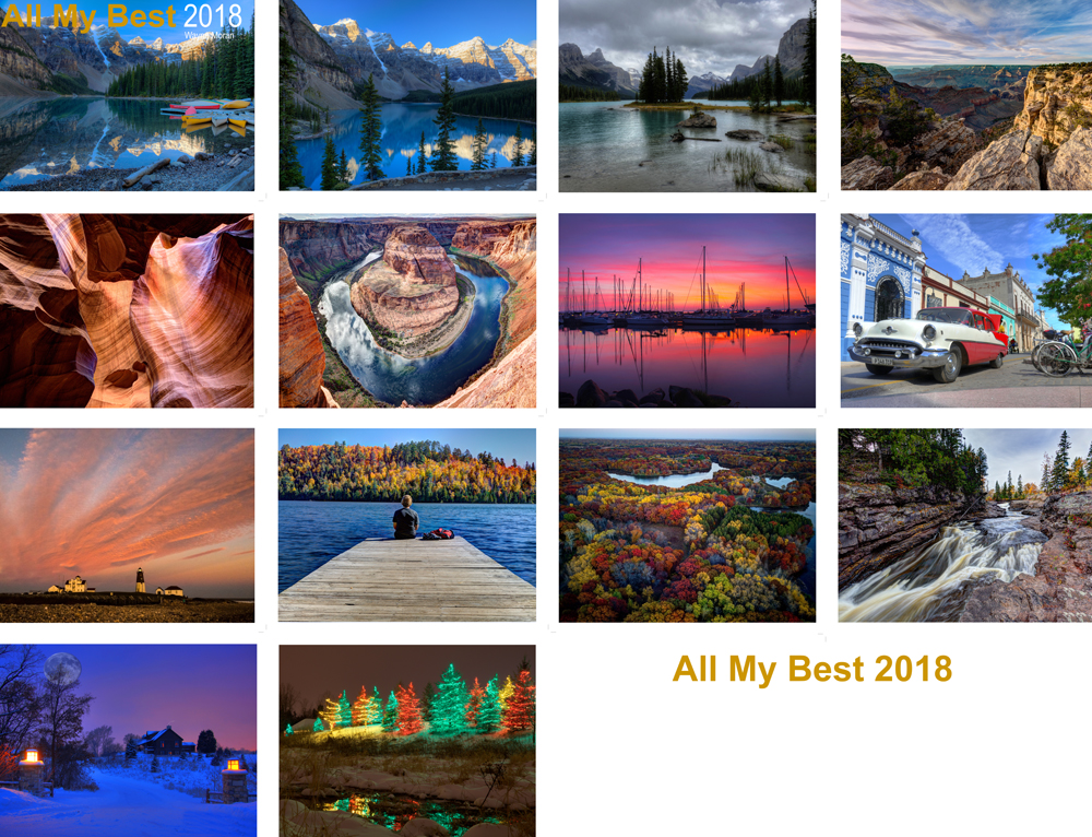 All My Best 2018 Calendars Are Here