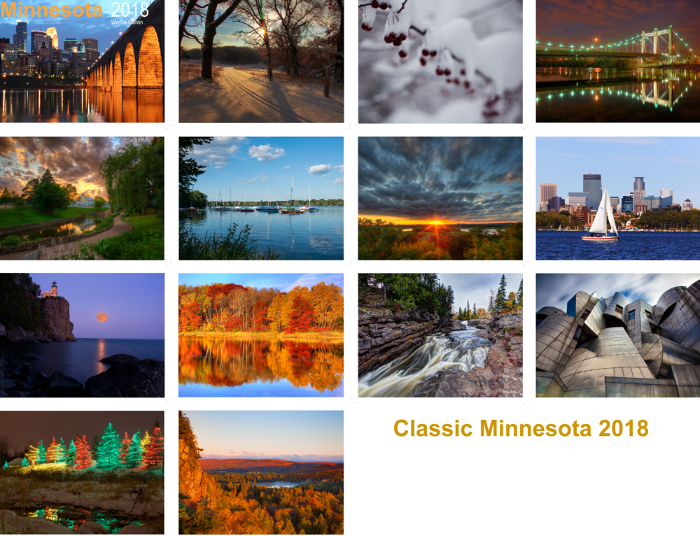 Wayne moran photography 2018 calendars are here