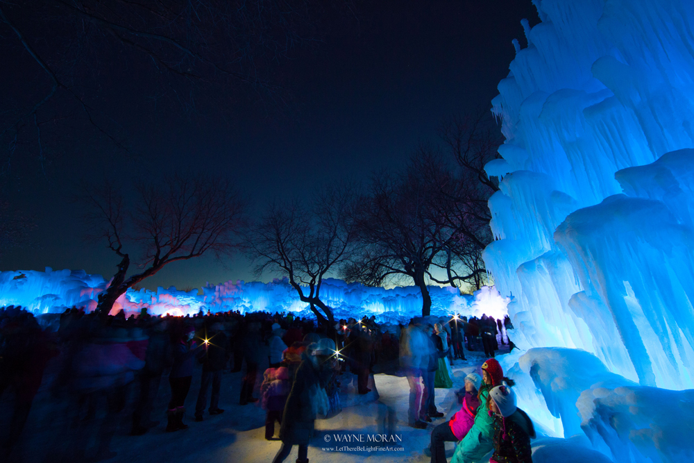 Special Community Events - Minnesota Ice Castles - 7 Best Tips for Winter Photography